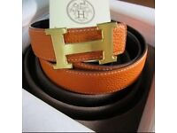 Hermes reversible belt with box in excellent condition