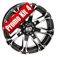 "Promo 4 STI HD3 machined black 12"" for 399.99$+tx  FREE SHIPPING"