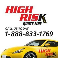 High Risk Driver? Get Car Insurance you can afford!
