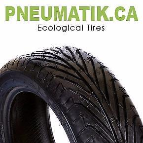 WINTER ECOLOGICAL TIRES: Last much LONGER than conventional tires for almost HALF PRICE!