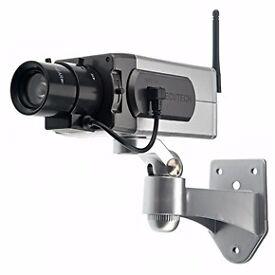 Motion Dummy waterproof camera with flashing led