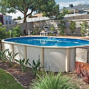 Above ground steel pool 6.2m x 3.5m - dismantled. Morningside Brisbane South East Preview