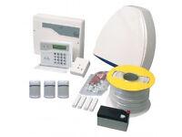 Honeywell Burglar Alarm System with sensor pir supplied & fitted £350 + dialer £450 & cctv cameras