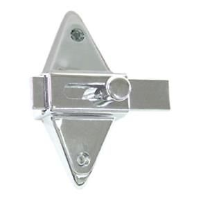 Partition Stall Latch For Restroom Bathroom Door One Only Chrome 38100 Ebay