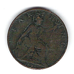 Coin 1898 Great Britain Farthing Kingston Kingston Area image 2