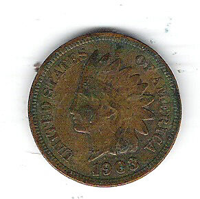 Coin 1903 USA 1 Cent Penny