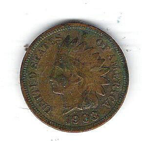 Coin 1903 USA 1 Penny