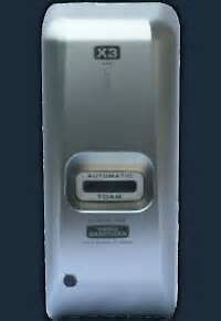 X3  handsfree sanitizer DISPENSER - wall mounted