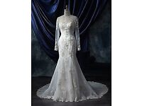 Alfred Angelo Ivory & Chamagne Gown style 980