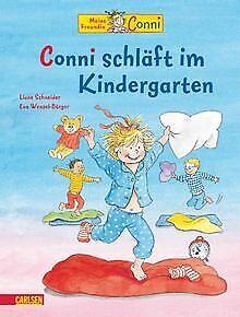 Conni-Bilderbücher: Conni schläft im Kindergarten von Sc...   Buch   Zustand gut