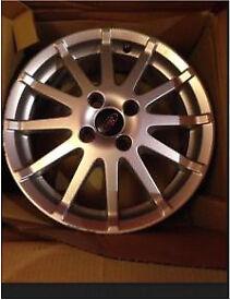 "16"" 4x108 Ford Fiesta Zetec s ST alloy alloys wheels"