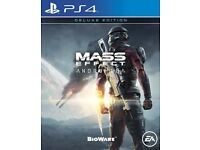 Ps4 mass effect andromeda swap for ps4 or Xbox one game/games