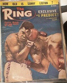 BOXING MAGAZINE. RING MAGS ETC.1950'S TO 80'S Belleville Belleville Area image 3