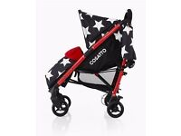 Cosatto All Star Stroller Pram FROM BIRTH UPWARDS BRILLIANT CONDITION USED FOR SHORT TIME