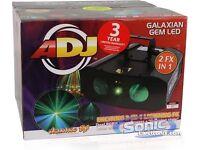 Dj lights laser and led