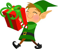 Buying and/or wrapping your presents!