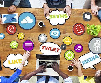 Twitter- und Facebook-Expertise stehen ab sofort im Lebenslauf. (Copyright: Thinkstock/ über The Digitale)