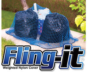 **NEW** FLING IT WRIGHTED GARBAGE NET