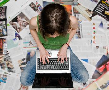 Vom Ebook-Autor bis zum Teilzeit-Lektor: Schreiberlinge können im Netz mächtig abkassieren. (Thinkstock/ The Digitale)