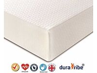 DuraTribe Memory Foam Double mattress (135 x 190 cm / 4ft6) new. Never used.