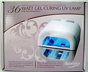 Ikonna 36 Watt Gel CuringUV Lamp (use well for Shellac)