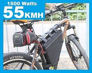 NEW 55kmh Powerful 1500 Watt Electric Bike conversion kits