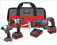 Brand new Cordless drill, impact driver and saw - Porter Cable