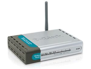 D-Link DI-524 Wireless Router - BRAND NEW in box, wrapper.