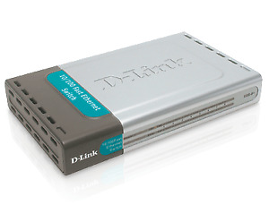 D-Link 8-Port Network Switch