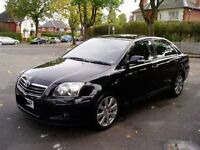 2007 TOYOTA AVENSIS 2.0 D4D BREAKING FOR PARTS IN BLACK MANUAL 1CD-FTV