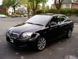 2007 TOYOTA AVENSIS 2.0 TD 1AD BLACK BREAKING FOR PARTS