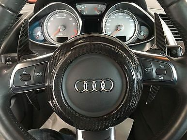 Audi R8 V8 & V10 R8 GT All Models 08-15 Carbon Fiber Steering Wheel Center Cover