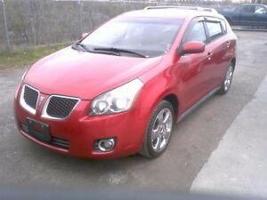 2009 Pontiac Vibe AWD 100% accident free,  matrix, certified