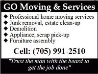 Junk removal and yard clean up