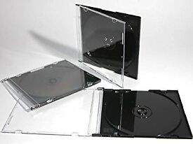 FREE several thousand black slimline CD cases of type illustrated