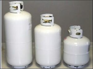 OLD PROPANE TANKS RE VALVED, FILLED & CERTIFIED