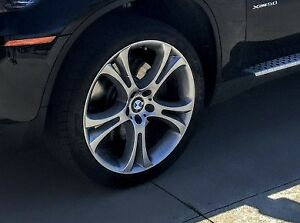 """21"""" tires and rims (staggered) off BMW X6"""