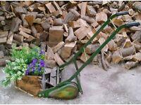 Vintage Lawn Mower Garden Planter Indoors or Outdoors Display Piece