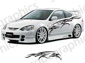 Car Vinyl Side Graphics Decals Sticker