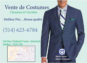 Costumes neuf pour hommes a84e2100796