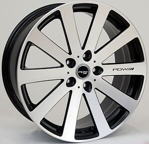 18 19 inch wheel pdw hbr rims  5 stud ford holden bmw toyota nissan all cars