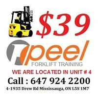 Forklift Training Mississauga, from $39 be a Forklift Operator