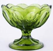 Green Carnival Glass