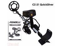 Fisher Metal Detector CZ-21