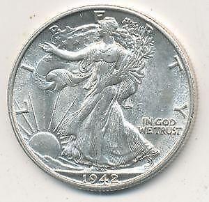 Walking Liberty Silver Dollars