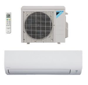 AC/ HEAT PUMP-DUCTLESS - CENTRAL UNITS/ GOODMAN- DAIKIN - GREE &