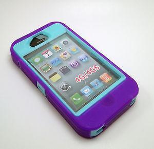 Otterbox Defender Series IPhone 4 Purple