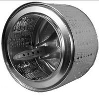 Need stainless steel wash machine drum for project.