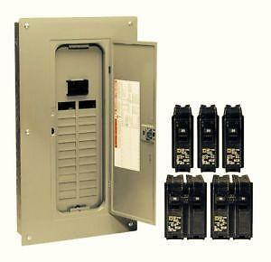 100 amp panel 100 amp circuit breaker panels