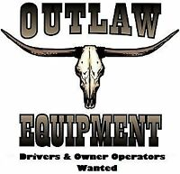 Drivers & Lease Operators wanted to haul Oil and Water